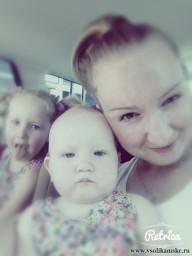 я с дочками