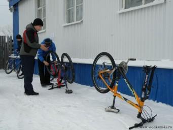 Главное - правильно подготовить велосипед.