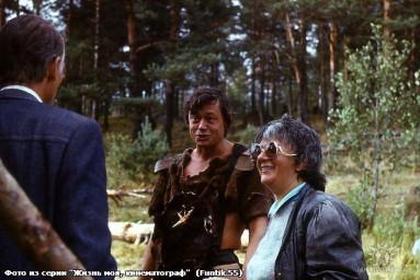 """На съёмочной площадке к/к """"Две стрелы"""" 1988 г."""