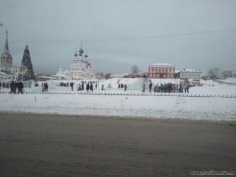 Ледовый городок 1 января
