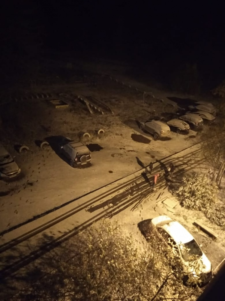 Снег 12 октября