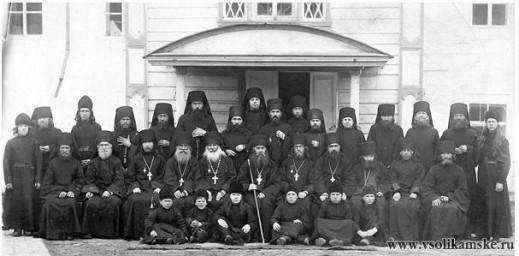 Братия мужского монастыря