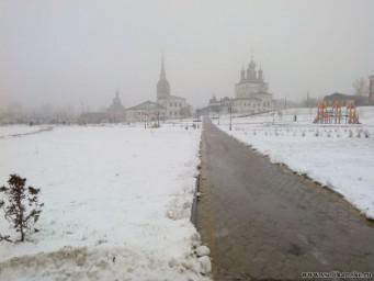 Центр города в тумане12972