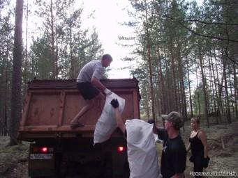 Собрали 135 мешков мусора!