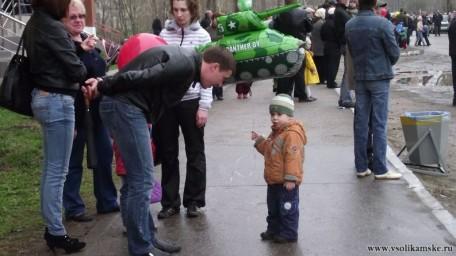 Парад 9 мая в Боровске10332