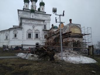 Реставрация Троицкого