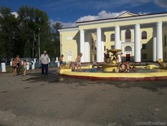 Соликамск ДК Ленина фонтан 2016 г