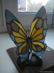 Бабочка подарочная на подставке
