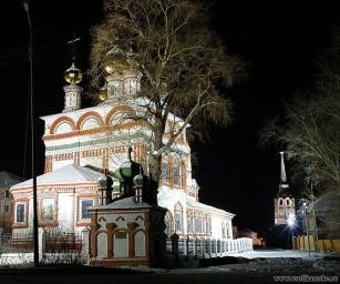 Соликамск вечерний