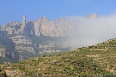 Горы в дымке...