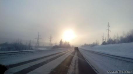 Туман 8 января
