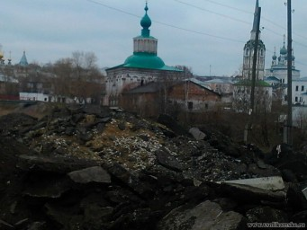 Новый пейзаж Соликамска