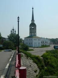 Соборная колокольня. Вид с Поцелуева моста.