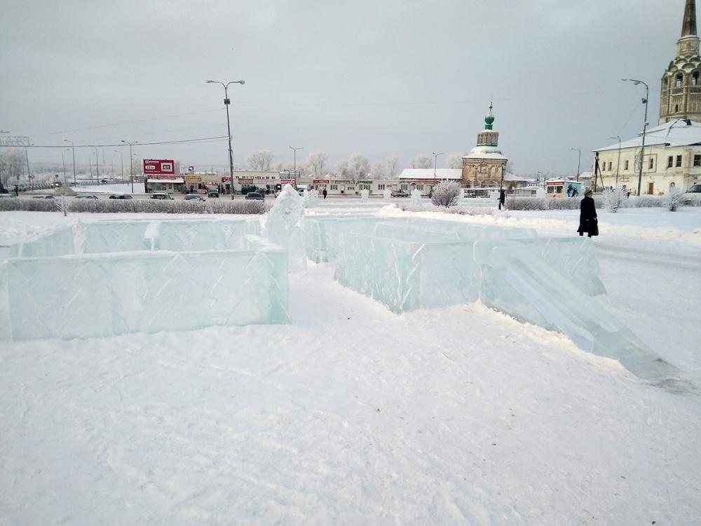 Ледовый лабиринт