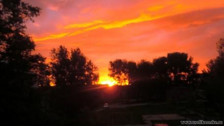 Восход солнца 24.05.2015 4 часа 52 минуты13600