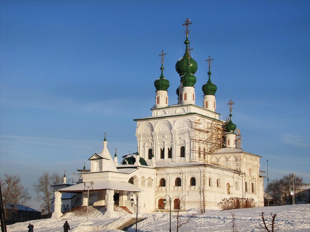 Троцкий Собор в Соликамске в январе 2018