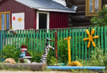 Веселый домик в Боровой