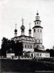 Богоявленская церковь. Вид с северо-востока. Фото начала 20 века