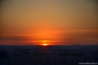 Морозные восходы конца 2012 года12112